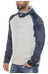 super.natural Motion sweater Heren grijs/blauw